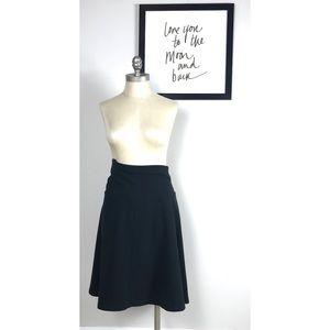 Topshop maternity skirt 12 pleated Black